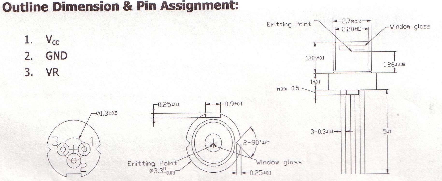 Green Laser Diode Driver Circuit Diagram Wiring Solutions Pulsed 3 3mm Or Module Housing And Lens